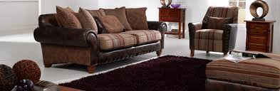 Leather And Upholstered Sofa Terrific Fabric Leather Sofa Lexus Fabric And Leather Sofa 3