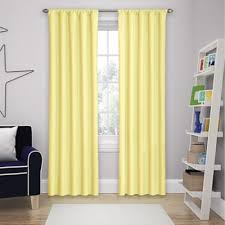 buy yellow room darkening curtains from bed bath u0026 beyond