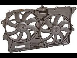 2009 ford flex fan ford flex radiator fan replacement install youtube