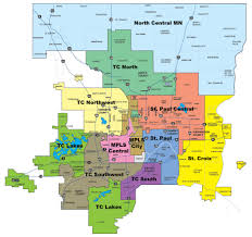 Metro Ny Map by Sectors Of The Twin Cities Metro Area Streets Mn