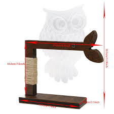 eshion home 3d owl shape led desk table light lamp night light us