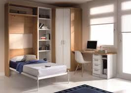 bureau dans une armoire lit dans une armoire maison design wiblia com
