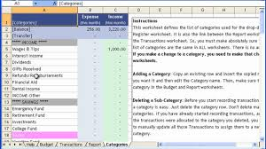 Money Budget Spreadsheet Money Management Template Tutorial 1 Customizing Budget