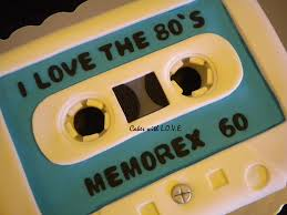 cassette 80 u0027s tape made for an 80 u0027s theme party made out of