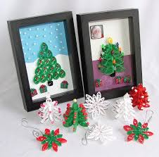 christmas quilling projects beginning to look a lot like