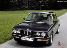 bmw m5 1985 car classics