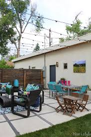 how to hang lights on house outdoor style how to hang commercial grade string lights blue i