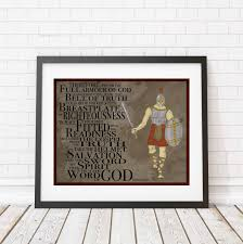 christian print armour of god wall print children u0027s