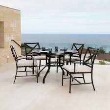 round table terrace collection dark brown thos baker