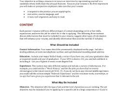 i need a resume template what should my professional resume look like objective be on