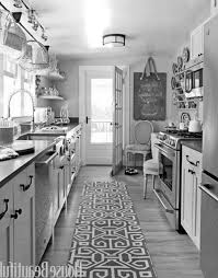 ideas for a galley kitchen galley kitchen ideas with white brass vintage lighting galley