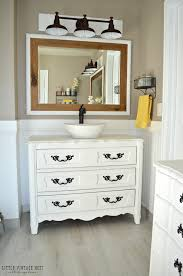 Build Bathroom Vanity Creative Diy Bathroom Vanity Projects The Budget Decorator