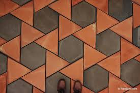 teselado girasol spanish revival architecture terracotta floor