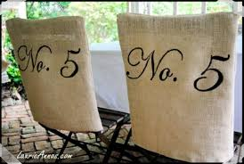 burlap chair covers 25 gorgeous chair covers and festive chair backs to make tip junkie