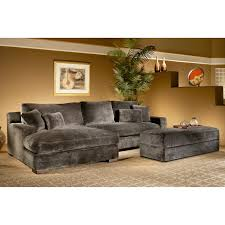 Sectional Sofa With Storage Chaise Fairmont Designs Doris 2 Piece Sectional Sofa With Storage Ottoman