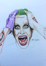 joker squad colored pencil drawing by ninogor on deviantart