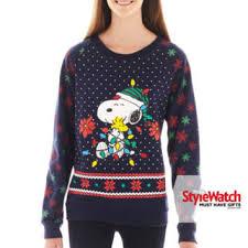 snoopy christmas sweatshirt jcpenney peanuts snoopy from jcpenney yaaaaasssss