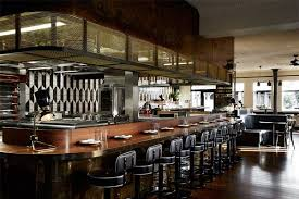 cuisine deco design melbourne restaurant fuses deco with modern