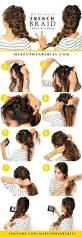 Hairstyle Steps For Girls by Best 20 French Braid Updo Ideas On Pinterest French Braided