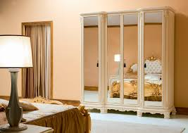 mirror closet doors furniture charming small classic style bedroom
