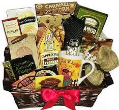 snack baskets coffee snack basket
