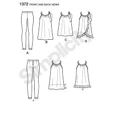 pattern for misses u0027 sportswear cynthia rowley collection simplicity