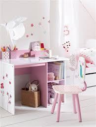 verbaudet bureau enfant chaise de bureau fille thème cha pouss blanc vertbaudet enfant