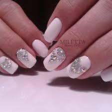 white rhinestone nail art the best images bestartnails com