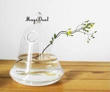 Hanging Glass Wall Vase Popular Hanging Glass Wall Vase Buy Cheap Hanging Glass Wall Vase