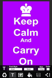 How To Make Your Own Keep Calm Meme - keep calm poster creator free apps on google play