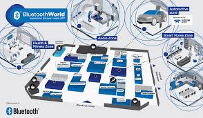 exhibition floorplan bluetooth world 2017 experience discover
