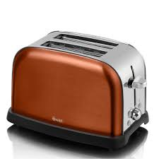 Morphy Richards 2 Slice Toaster Swan St16020copn Metallic 2 Slice Toaster Copper Toasters