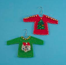 ugly sweater christmas ornament craft diy ornaments christmas