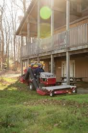 in fall ventrac leaf management