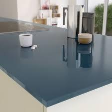 plan de travail cuisine verre plan de travail sur mesure verre laqué gris de plomb ep 15 mm