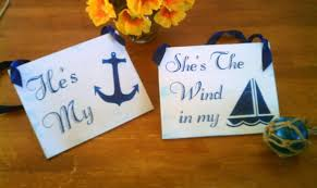 nautical weddings nautical wedding signs wood navy blue wedding decor