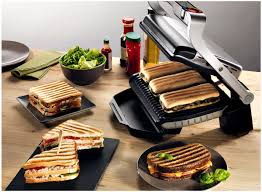Tefal Sandwich Toaster Tefal Gc712 Optigrill Plus Appliances Online