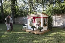 Backyard Play House Build The Perfect Gift This Holiday Season A Backyard Playhouse