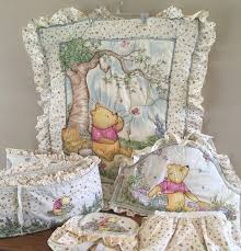 Pooh Crib Bedding Peachy Crib Bedding Pink Pooh Classic Nursery Together With