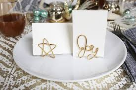 Diy Place Cards Easy Wire Place Card Holder Diy U2013 A Beautiful Mess
