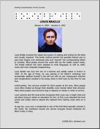 biography louis braille middle high abcteach