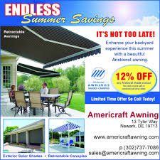 Aristocrat Awnings Reviews Americraft Awning Inc Awnings 13 Tyler Way Newark De