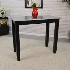 counter height pub table borger galvanized counter height pub table reviews joss main