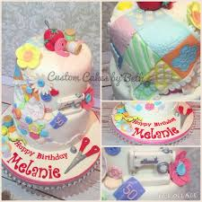 sewing theme 50th birthday cake cakecentral com