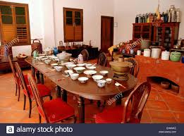 Mansion Dining Room Georgetown Malaysia The Staff Dining Table In The Great Kitchen