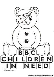 barney coloring colouring pages 15 pudsey bear colouring pages