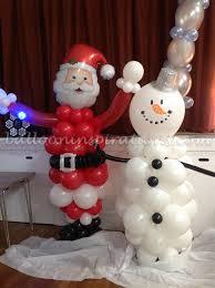 Christmas Decoration Santa Claus by Seasonal Parties Archives Ballooninspirations Com