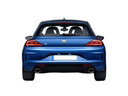 vw scirocco car aka volkswagen scirocco r 2015 with blue paint