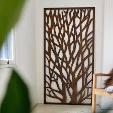 buy rustic metal tree screen the worm that turned revitalising