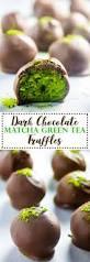 chocolate matcha truffles lean green nutrition fiend